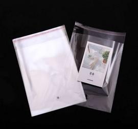 Embalagem de plástico transparente