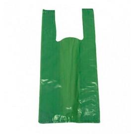 sacola reciclada verde